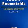 Artritis reumatoide. Las preguntas frecuentes